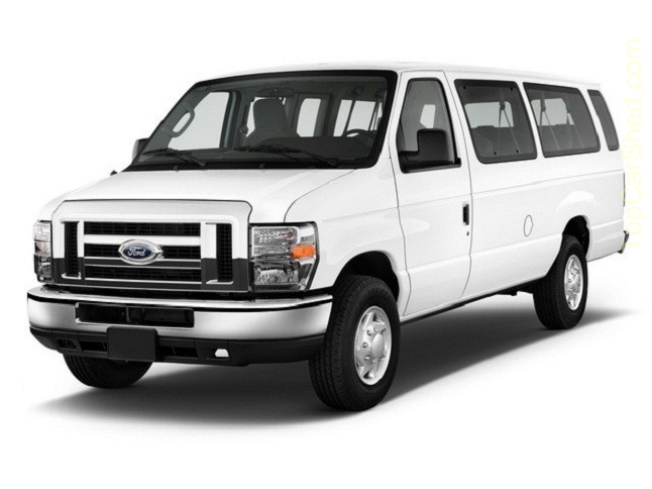 LAX Van Rental Ford E350